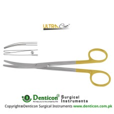 UltraCut™ TC Lexer Dissecting Scissor Curved Stainless Steel, 21 cm - 8 1/4""