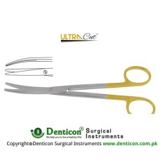 UltraCut™ TC Lexer Dissecting Scissor Curved Stainless Steel, 16 cm - 6 1/4""