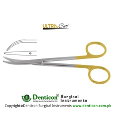 UltraCut™ TC Metzenbaum-Thorek Dissecting Scissor Curved Stainless Steel, 23 cm - 9""