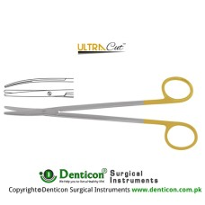 UltraCut™ TC Metzenbaum Dissecting Scissor Curved Stainless Steel, 18 cm - 7""