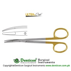 UltraCut™ TC Ragnell Dissecting Scissor Curved Stainless Steel, 12.5 cm - 5""