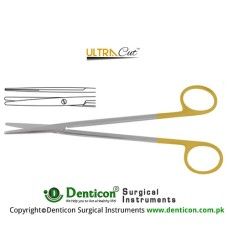 UltraCut™ TC Metzenbaum Dissecting Scissor Straight Stainless Steel, 28.5 cm - 11 1/4""