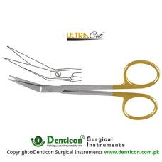 UltraCut™ TC Angled Scissor Angled Stainless Steel, 11 cm - 4 1/2""