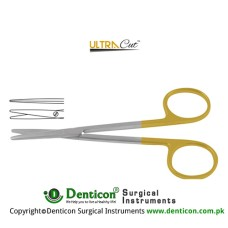 UltraCut™ TC Metzenbaum Dissecting Scissor Straight Stainless Steel, 14.5 cm - 5 3/4""