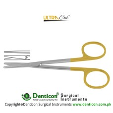 UltraCut™ TC Metzenbaum Dissecting Scissor Straight Stainless Steel, 11.5 cm - 4 1/2""