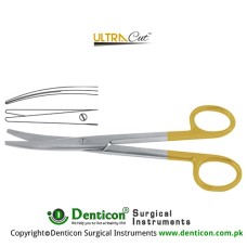 UltraCut™ TC Mayo-Stille Dissecting Scissor Curved Stainless Steel, 17 cm - 6 3/4""