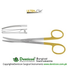 UltraCut™ TC Mayo Dissecting Scissor Curved Stainless Steel, 14.5 cm - 5 3/4""