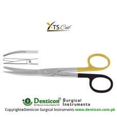 XTSCut™ TC Operating Scissor Curved - Sharp/Blunt Stainless Steel, 14.5 cm - 5 3/4""