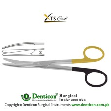 XTSCut™ TC Mayo Dissecting Scissor Curved Stainless Steel, 17 cm - 6 3/4""