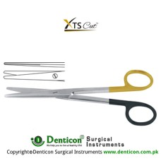 XTSCut™ TC Mayo-Stille Dissecting Scissor Straight Stainless Steel, 14.5 cm - 5 3/4""