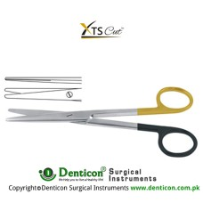 XTSCut™ TC Mayo-Stille Dissecting Scissor Straight Stainless Steel, 17 cm - 6 3/4""