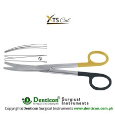 XTSCut™ TC Mayo-Stille Dissecting Scissor Curved Stainless Steel, 17 cm - 6 3/4""