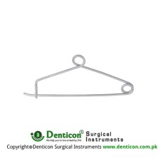 Mayo Safety Pin Stainless Steel, 14 cm - 5 1/2""