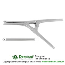 Payr Intestinal Clamp Stainless Steel, 20.5 cm - 8""