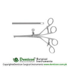 Lane Intestinal Clamp Curved Stainless Steel, 30 cm - 11 3/4""
