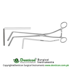 Resano Atrauma Sigmoid Anastomosis Clamp Stainless Steel, 28 cm - 11""