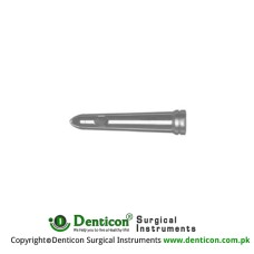 Blond Proctoscope Tube Stainless Steel, Diameter - Working Length 18:24 mm Ø - 75 mm