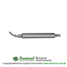 Illumination Handle Only With Head End Stainless Steel,