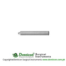 Strauss Handle for Rectoscope Head Stainless Steel,