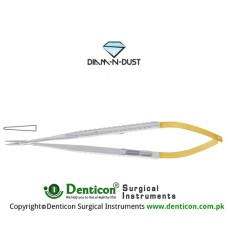 Diam-n-Dust™ Micro Needle Holder Straight - With Lock Stainless Steel, 23 cm - 9""
