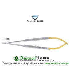 Diam-n-Dust™ Castroviejo Micro Needle Holder Straight - Extra Delicate - With Lock Stainless Steel, 14 cm - 5 1/2""