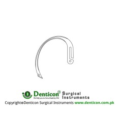 Young Ligature Needle Only Fig. 3 Stainless Steel,