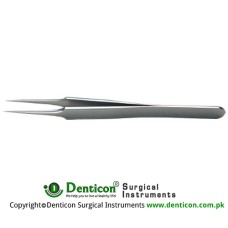 Jewelers Forcep 4 # Straight,0.13 x 0.08mm tips, 11cm