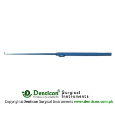 Krayenbuhl Micro Nerve and Vessel Hook 1.0mm dianmeter,hook depth 3.8mm,probe pointed large,18.5cm