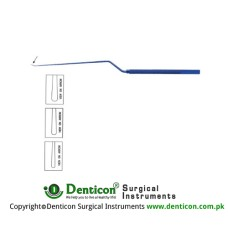 Bayonet Dissector 1.15mm wide tip,small,23cm 1.7mm wide tip,medium,23cm 2.1mm wide tip,large,23cm
