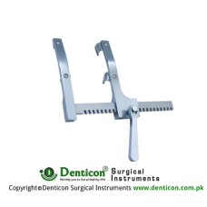 More Sternal Retractor Child Total opening 160mm Blade Wide 19mm Blade depth 19mm Arm length 156mm