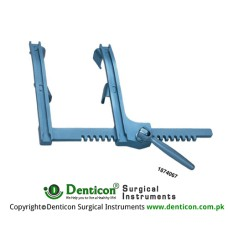 More Sternal Retractor Adult Total opening 200mm Blade Wide 28mm Blade depth 25mm Arm length 200mm