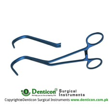 DeBakey Aortic Clamp Kay aorta exclusion clamp,Atraumatic jaw,51mm jaw length,32mm jaw depth,20cm Lambert-Key aorta exclusion clamp,Atraumaic jaw,51mm jaw length,20mm jaw depth, 20cm