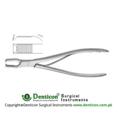 Frosch Bone Holding Forcep Stainless Steel, 18 cm - 7""