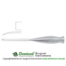 "Smith-Peterson Bone Osteotome Curved Stainless Steel, 20.5 cm - 8"" Blade Width 19 mm"