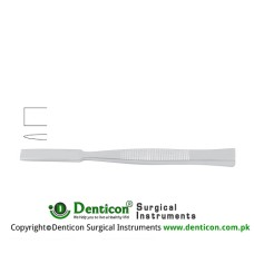 "Bone Osteotome Stainless Steel, 13.5 cm - 5 1/4"" Blade Width 14 mm"