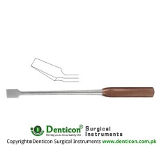 "FiberGrip™ Dahmen Bone Osteotome Curved Stainless Steel, 30 cm - 12"" 4 mm"