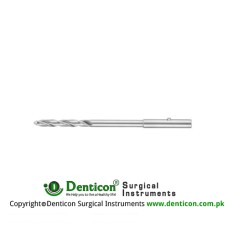Twist Drill Fig. 11 Stainless Steel, Diameter 1.5 mm Ø