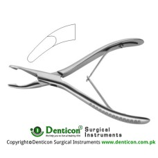 Luer Bone Rongeur Stainless Steel, 14.5 cm - 5 3/4""