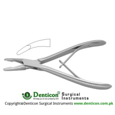 Jansen Bone Rongeur Curved Stainless Steel, 18 cm - 7""