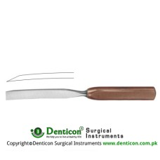 FiberGrip™ Bone Chisel Curved Stainless Steel, 26.5 cm - 10 1/2""