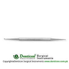 Nail Curette Stainless Steel, 14 cm - 5 1/2""