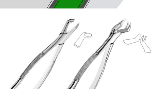 Xtrac™ American Pattern Tooth Extraction Forceps
